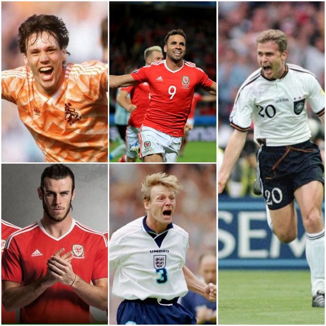 <p>Retro football shirts: the most memorable Euros kit, and where to buy</p>