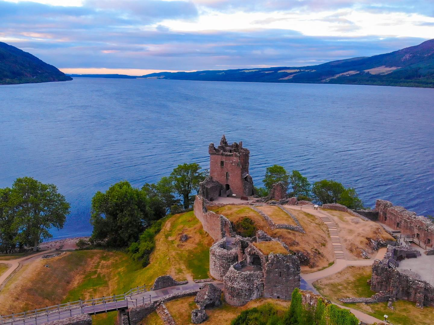 Has the Loch Ness Monster been discovered using Google Maps?