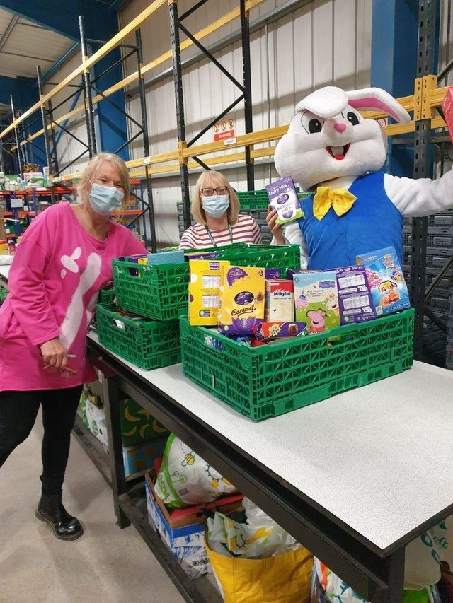 If you would like to help the bunny stock up the food banks across the East Riding you can donate by contacting natalie@ervas.org.uk or your local food bank or pantry.