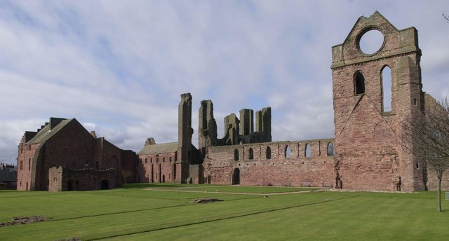 An exhibition is being prepared at Arbroath Abbey to mark the signing of the Declaration. Picture: Contributed