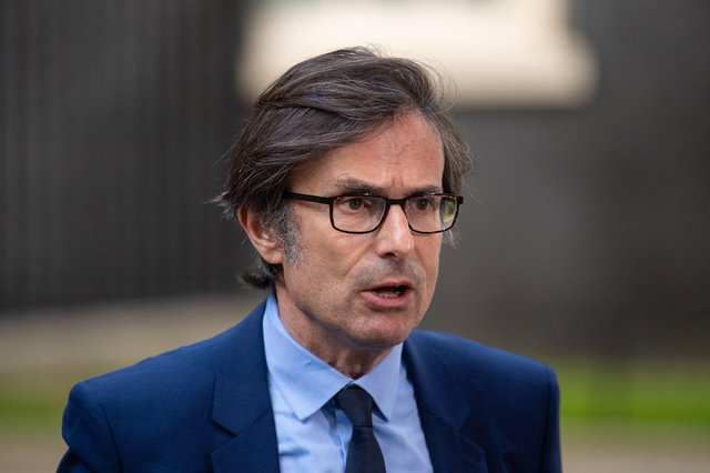 Robert Peston warned about the influence of government on broadcasters. Picture: PA