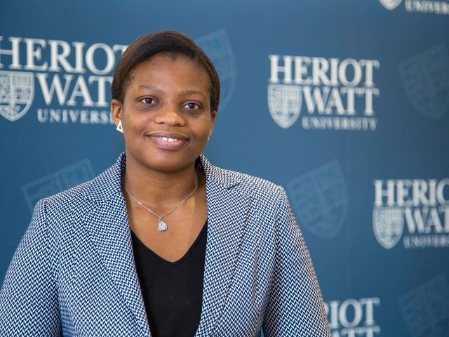 IntelliDigest founder Ifeyinwa Rita Kanu has organised the event at the Royal Society of Edinburgh. Picture: Heriot-Watt University