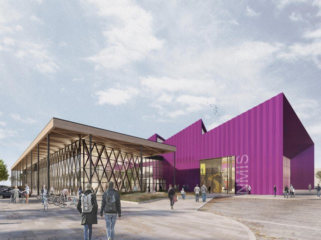 An artist's impression of the National Manufacturing Institute Scotland. Picture: Contributed
