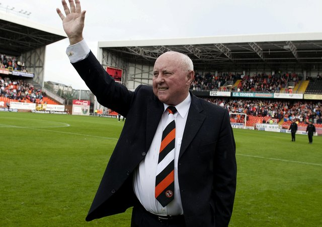 Smile, a play about former Dundee United manager Jim McLean, has been staged at the Dundee Rep. Picture: Kenny Smith/SNS