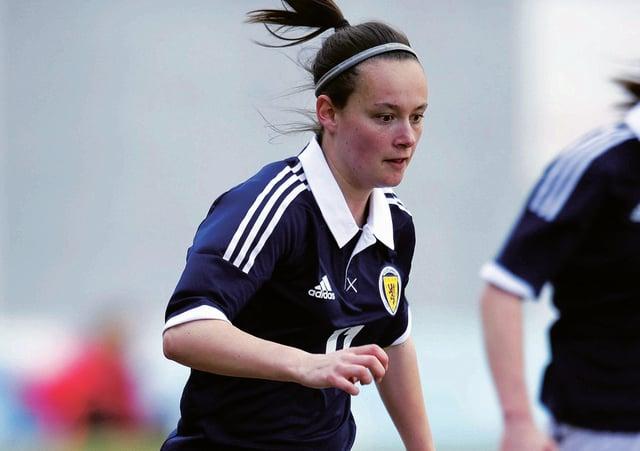 Scotland's match-winner  Abbi Grant. Picture: SNS