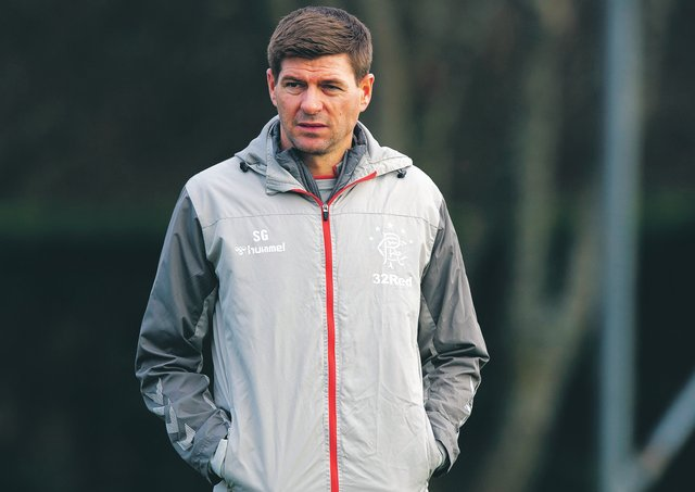 Rangers manager Steven Gerrard. Picture: Alan Harvey / SNS