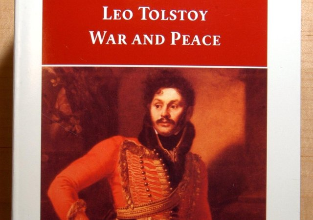 The sheer length of Leo Tolstoy's War and Peace can be off-putting to some readers (Picture: Cate Gillon)