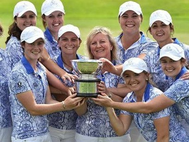 Great Britain & Ireland's hopes of repeating a 2016 Curtis Cup win in Ireland has been put on hold after the cancellation of the June event at Conwy