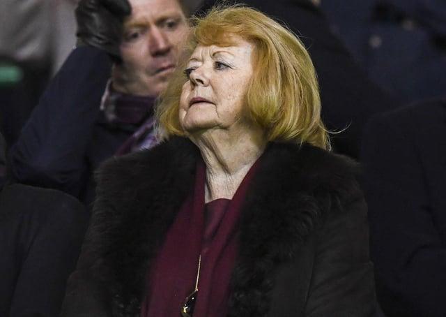 Hearts owner Ann Budge. Picture: Paul Devlin/SNS
