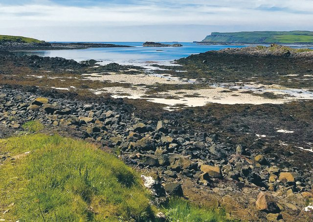 More than 80 cruise ships visited Canna last year