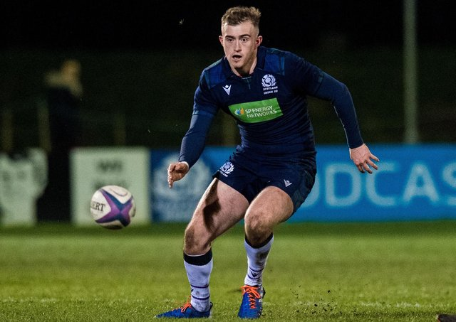 Nathan Chamberlain scored 32 points in Scotland's destruction of Wales. Picture: SNS.