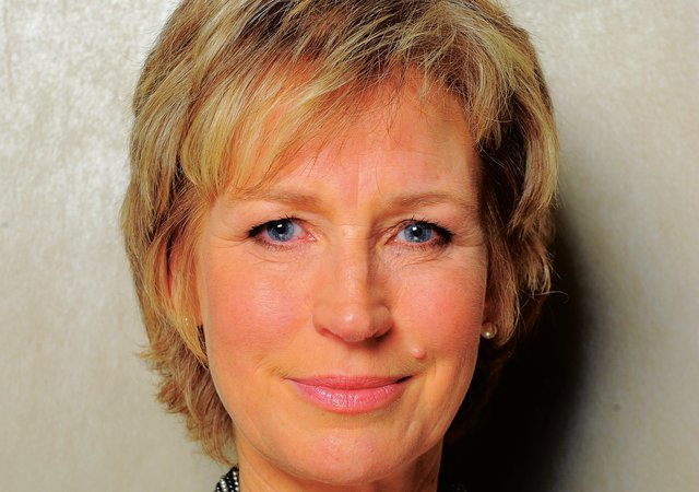 Sally Magnusson PIC: Robert Perry