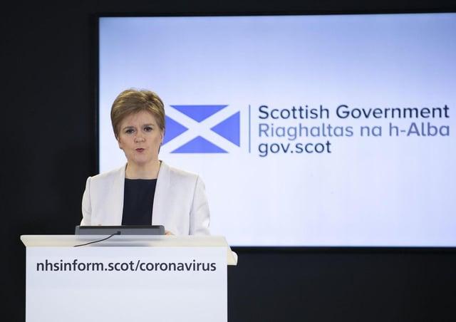 Nicola Sturgeon has been holding regular briefings on the coronavirus