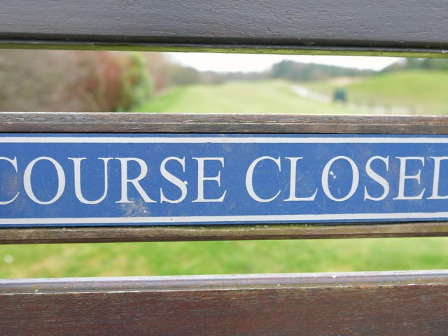 Golf courses in Scotland will remain closed as venues in England and Wales start reopening after a seven-week shutdown due to the coronavirus crisis. Picture: JPI Media