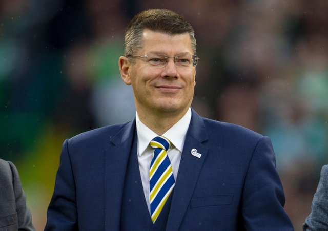 SPFL chief executive Neil Doncaster said the vote was a 'resounding result'. Picture: Bill Murray/SNS