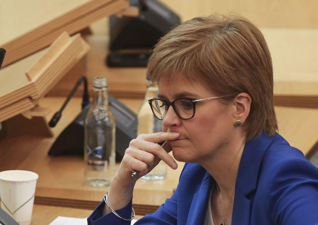 The First Minister has faced questions this week over the reported outbreak in Edinburgh,