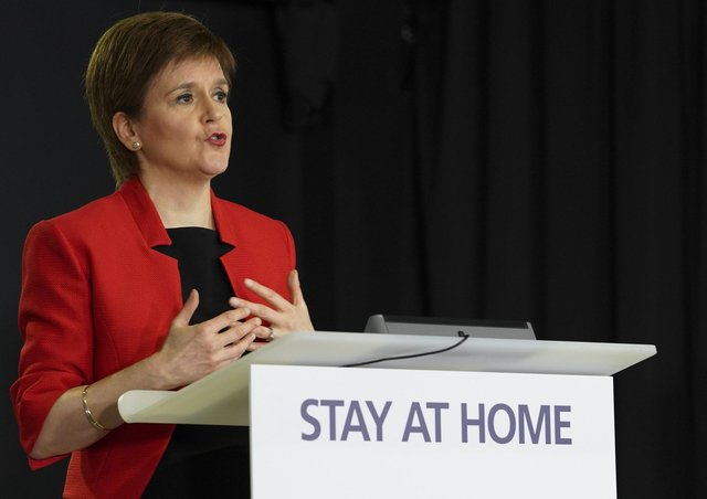 Nicola Sturgeon had insisted there was no cover-up over the coronavirus outbreak in Edinburgh in February