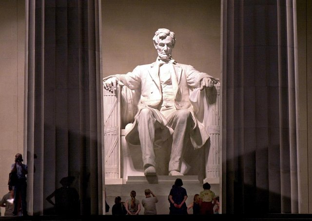 The Lincoln Memorial in Washington DC. The 16th President of the United States was a formidable opponent in the court room but still encouraged negotiation wherever possible (Picture: Emilie Sommer/AFP via Getty Images)