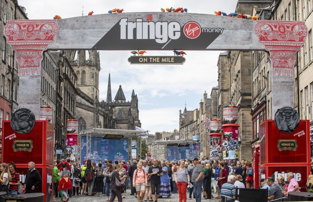 Events such as the world-famous Edinburgh Festival will likely always have an online element as well as the traditional face-to-face focus from now on (Picture: SWNS)