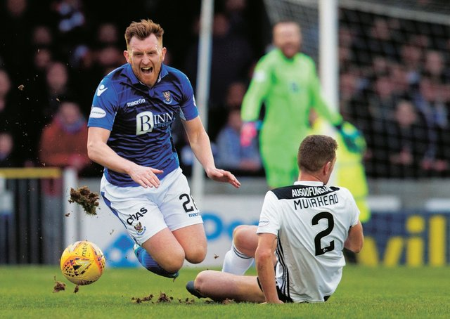 St Johnstone's Liam Craig is out of contract soon. Picture: Bruce White / SNS