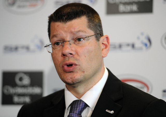 SPFL chief executive Neil Doncaster says he has nothing to hide. Picture: Ian Rutherford