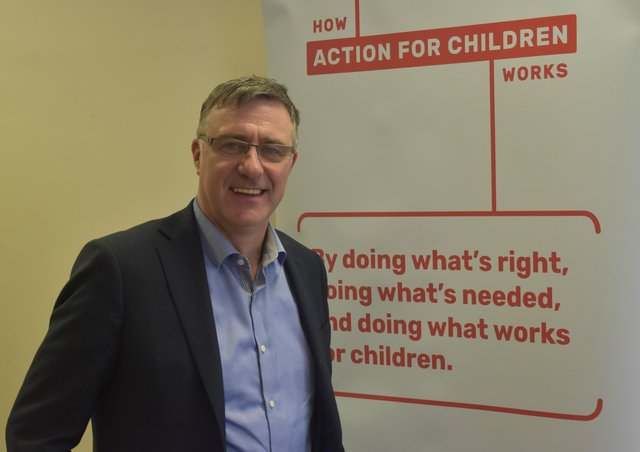 Paul Carberry, Action for Children director for Scotland.
