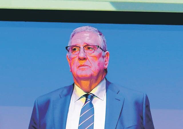 Rangers chairman Douglas Park. Picture: SNS