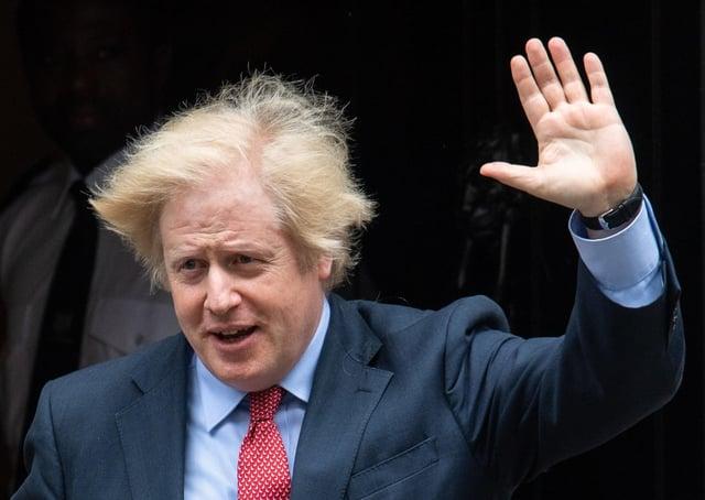Prime Minister Boris Johnson departs 10 Downing Street. Picture: Dominic Lipinski/PA Wire