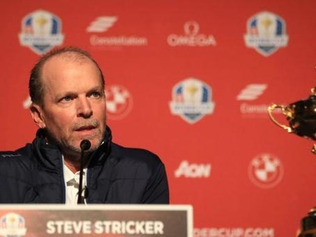 US captain Steve Stricker is still hopeful the 43rd Ryder Cup can go ahead as planned in his home state of Wisconsin in September. Picture: Getty Images