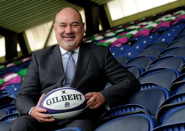 Scottish Rugby chief executive Mark Dodson. Picture: Lisa Ferguson