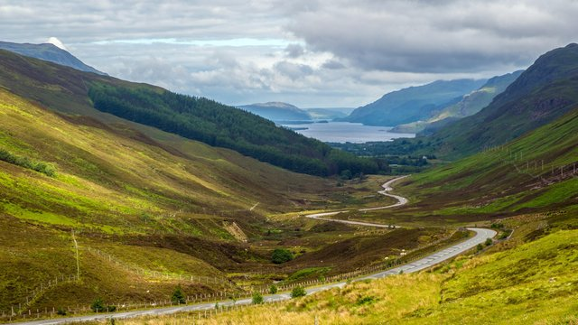 A view of Loch Maree from Glen Doherty. There have been warnings the UK is not prepared for the severe impacts of an environmental breakdown