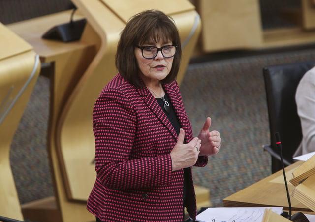 Scottish health secretary Jeane Freeman. Picture: Fraser Bremner  Pool/Getty Images