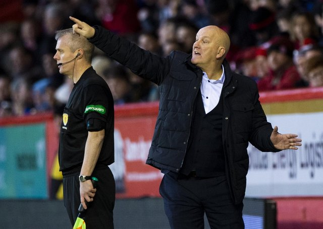 Dumbarton manager Jim Duffy has been a fixture on Scottish touchlines for decades. Picture: Bill Murray / SNS