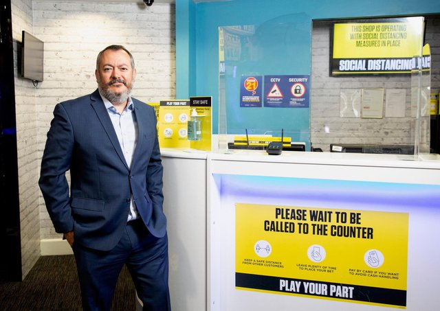 in running betting shops scotland