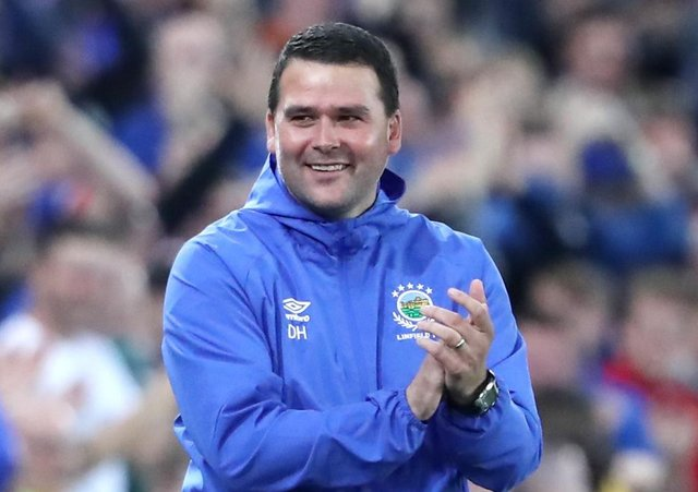 Linfield manager David Healy. Picture: Niall Carson/PA