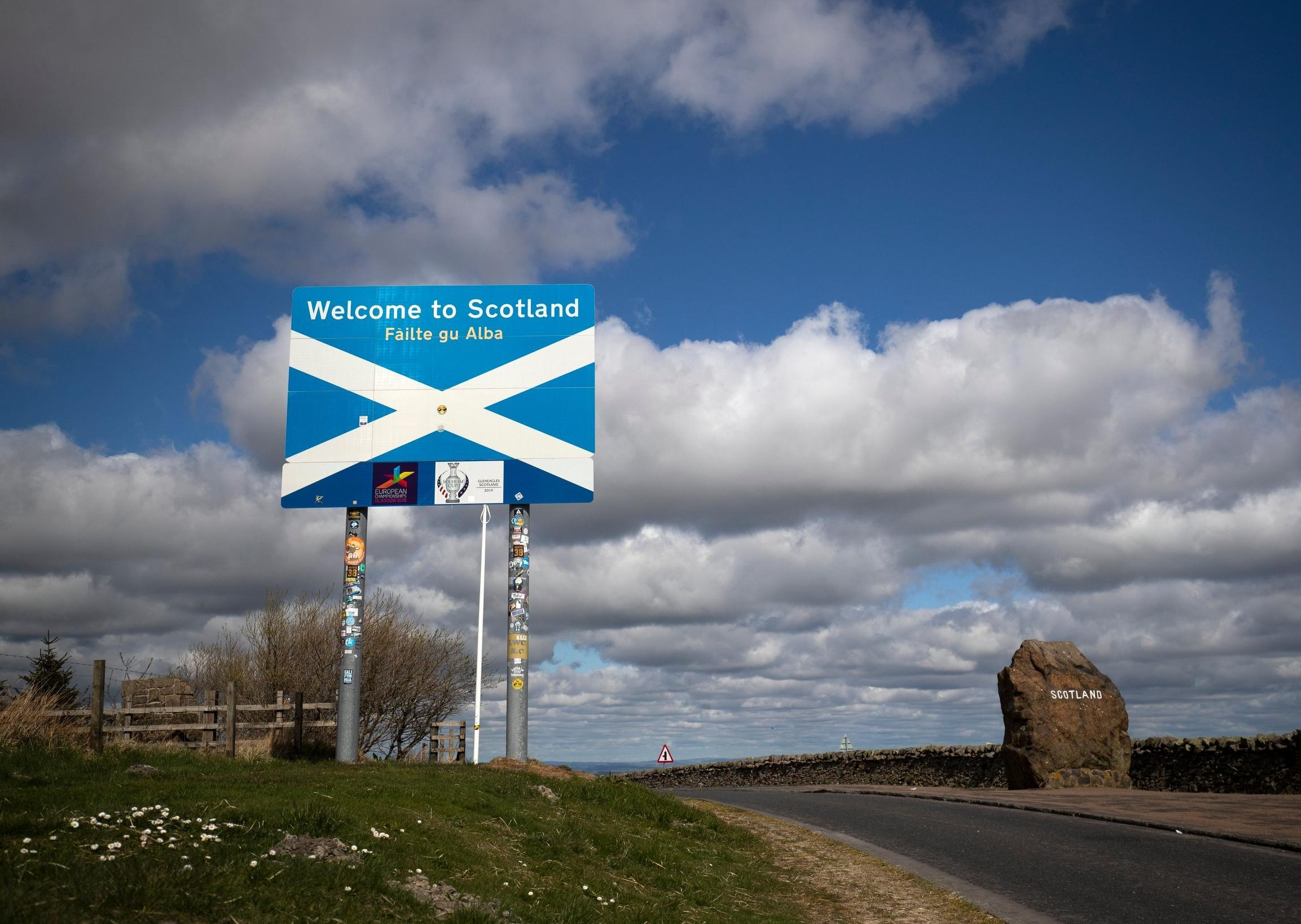 What has Scotland become when racists gather at England border: Brian Monteith