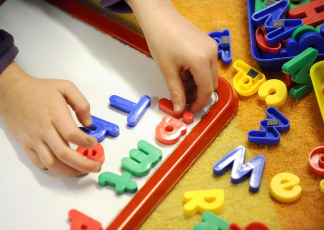 Nursery administrators are overwhelmed by the demand for places for toddlers (Picture: PA)