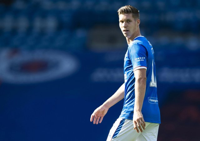 Cedric Itten is hoping his move to Rangers will help him secure a place in the Switzerland squad for the  European Championships. Picture: SNS