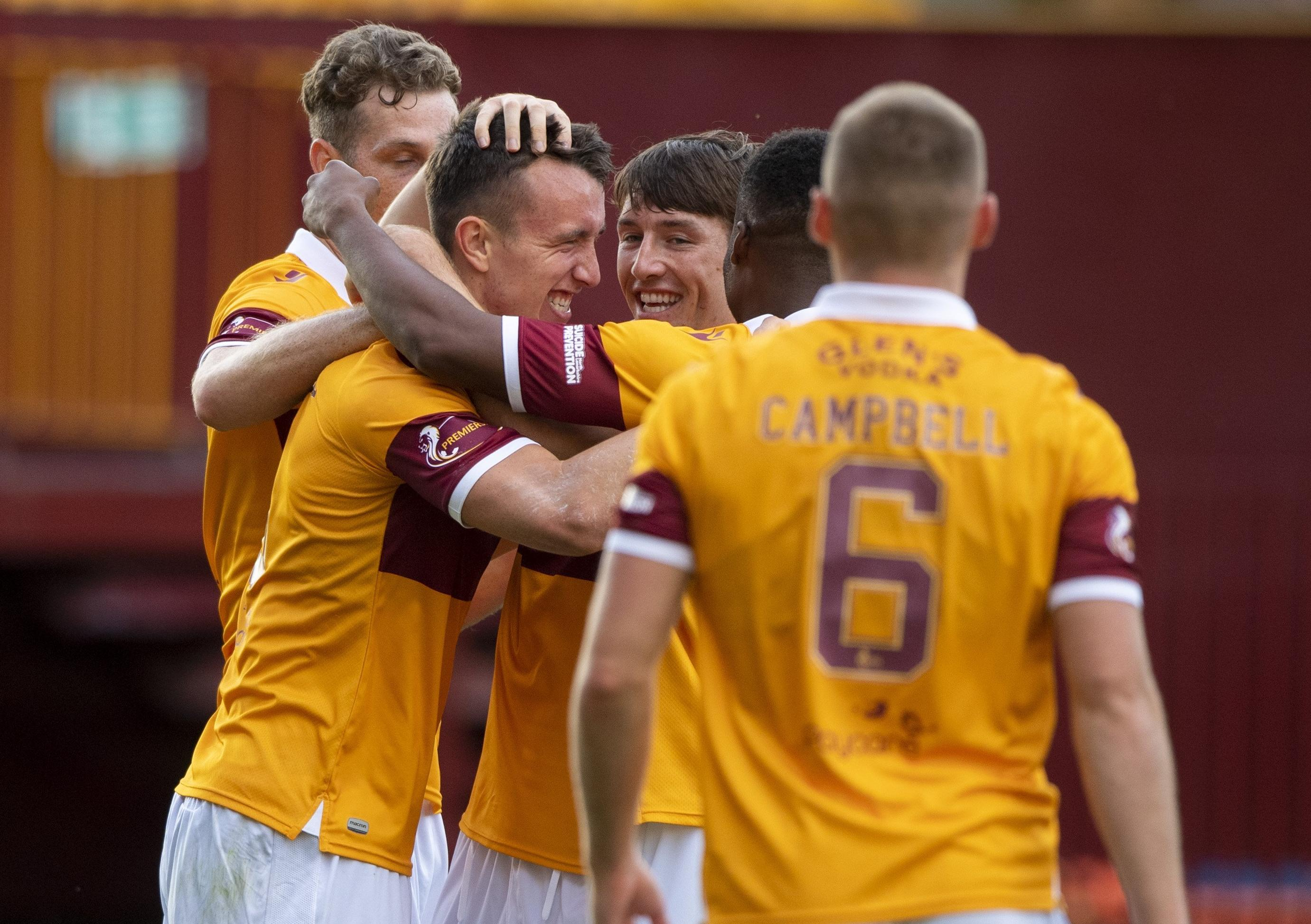Revitalised David Turnbull is 100 per cent fit and back on the goal trail for Motherwell