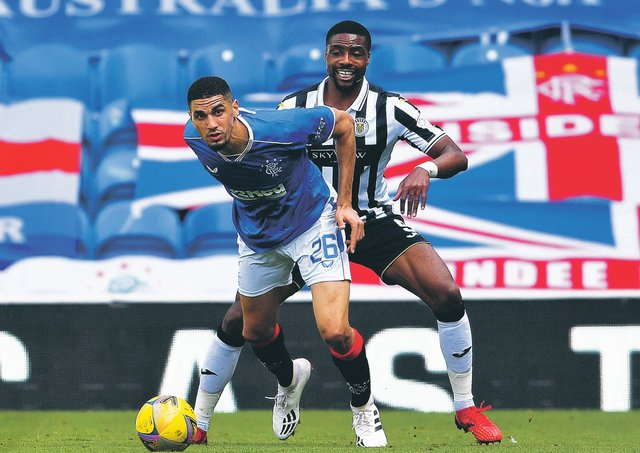 Rangers' Leon Balogun has looked strong, quick and good in the air. Picture: Craig Foy / SNS