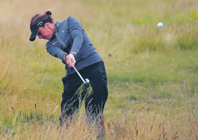 England's Georgia Hall won her maiden Women's Open in 2018. Picture: Jane Barlow/PA