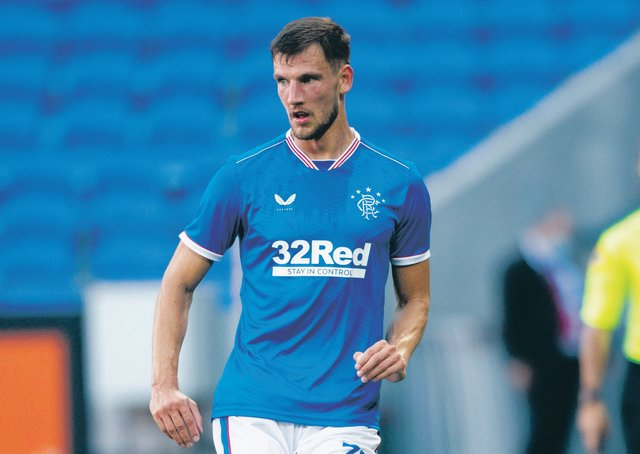 Borna Barisic has been linked with a move away from Rangers. Picture: SNS