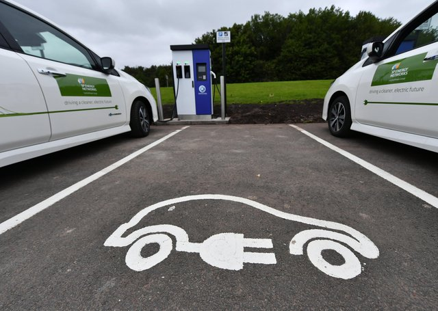 Demand for electric vehicles is expected to increase so networks will need to be renewed to support this change (Picture: John Devlin)