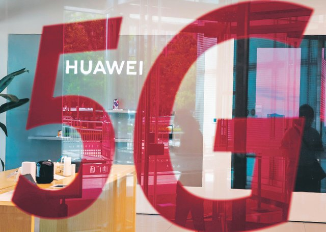 The UK has decided to ban technology made by Chinese telecom giant Huawei from its 5G network over security concerns (Picture: Nicolas Asfouri/AFP via Getty Images)