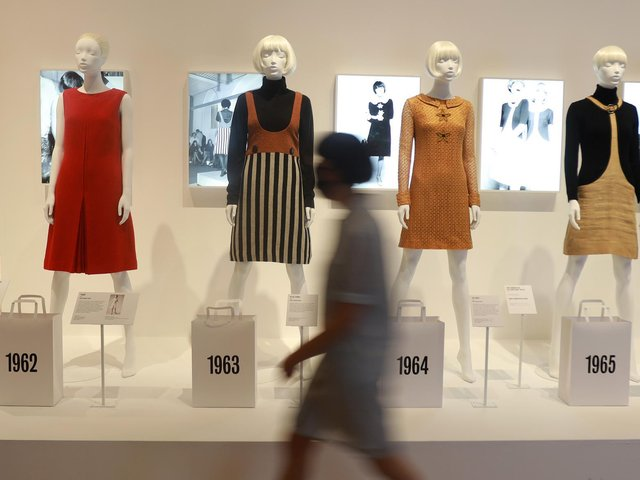First Look Celebration Of Iconic Fashion Designer Mary Quant Unveiled At V A Dundee The Scotsman