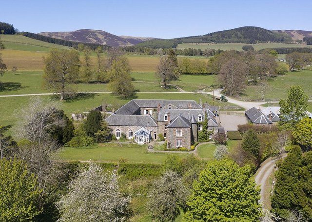 The Stobo Estate is centred on the Home Farm. It is a well-balanced and attractive agricultural, residential, sporting and forestry estate, in about 1,363 acres.