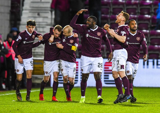Hearts beat Rangers to set up a Scottish Cup semi-final against Hibs. Picture: Craig Williamson / SNS