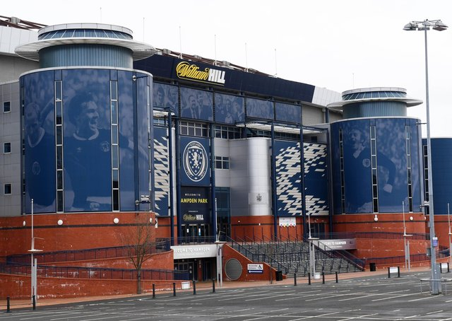 It is understood that fewer than the required 75 per cent of clubs returned a positive response to SPFL's Hampden HQ. Picture: SNS.