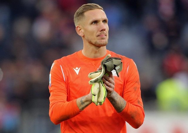 Robin Olsen has been on loan at Cagliari from Roma.  Picture: Enrico Locci/Getty Images