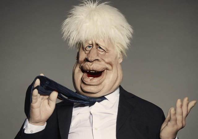 Boris Johnson is sent up in the new Spitting Image